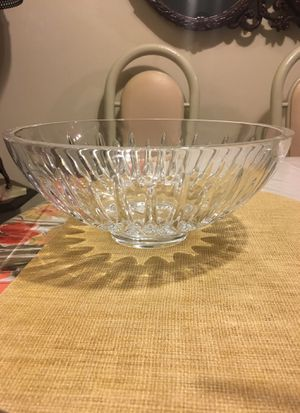 "Reed & Barton Soho Bowl, Clear, 10"" for Sale in Alexandria, VA"