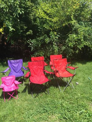 Comping chairs for Sale in Alexandria, VA