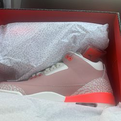 Rust Pink 3's Authentic Receipt With It Never Worn  Thumbnail