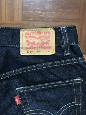 Levis Slim Fit Denim Blue Jeans for Sale in Montgomery Village, MD