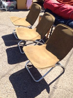 Vintage folding chairs for Sale in Tucson, AZ