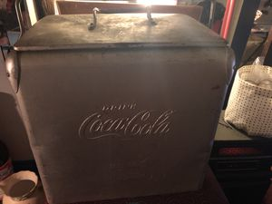 Antique Aluminum Cooler for Sale in St. Louis, MO