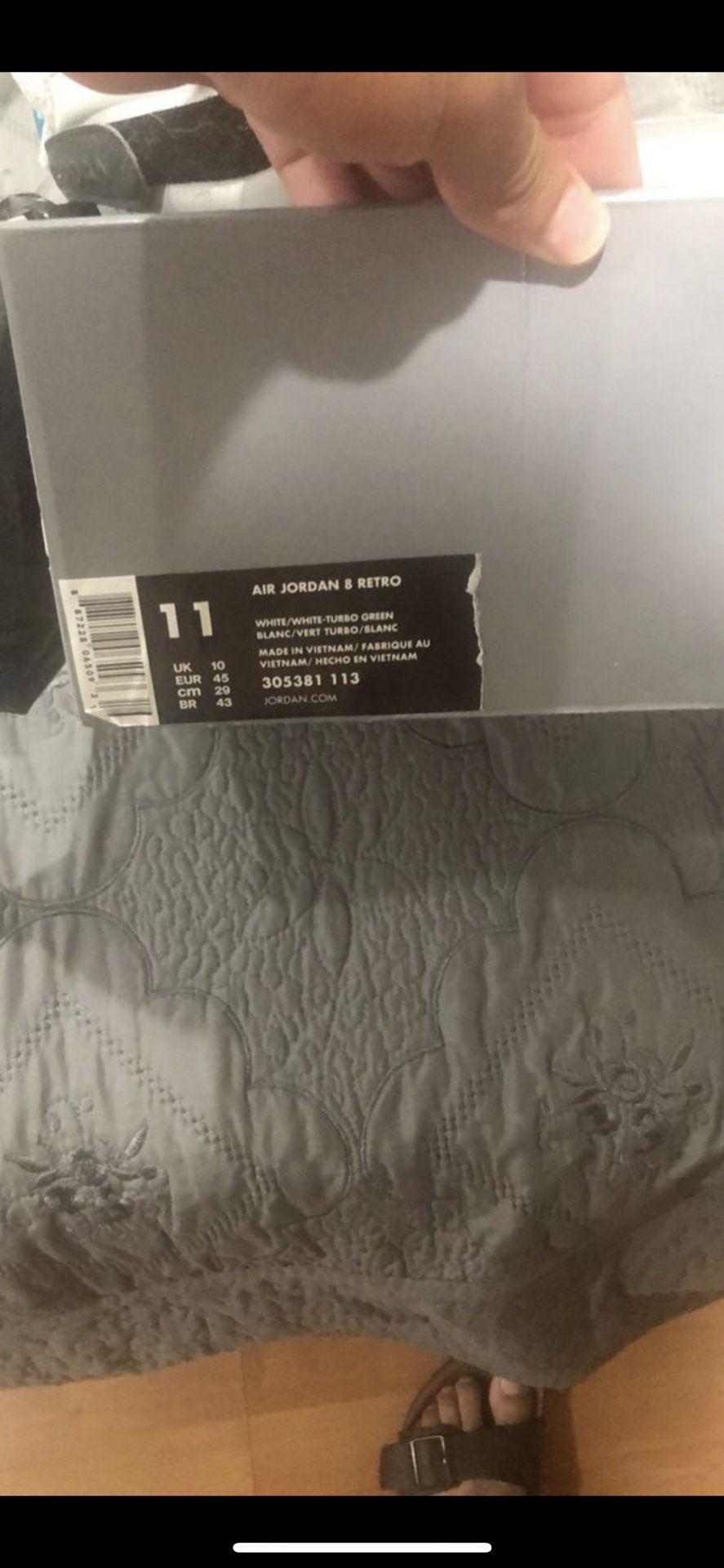 Jordan 8 size 11
