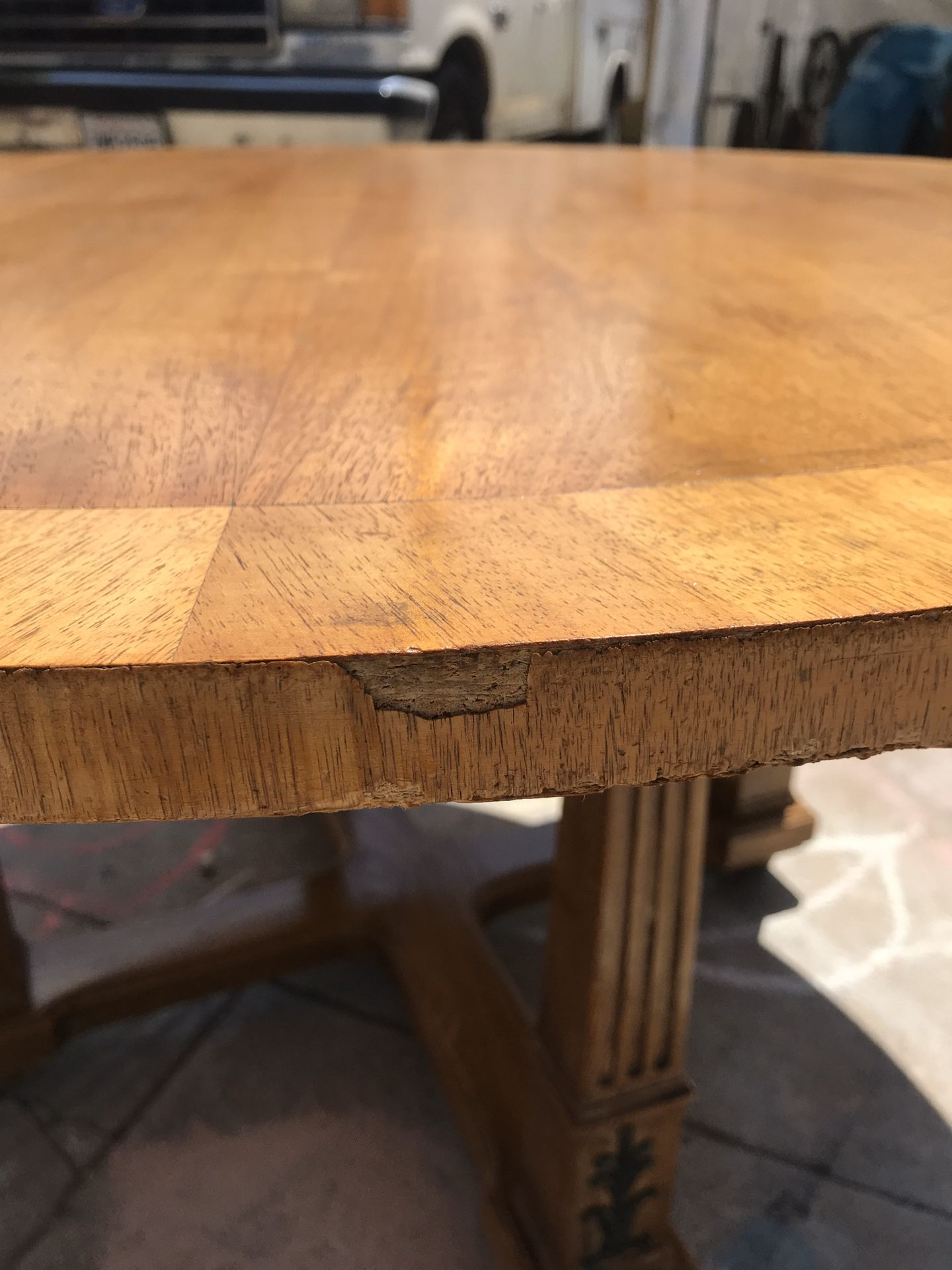 Round Vintage Table