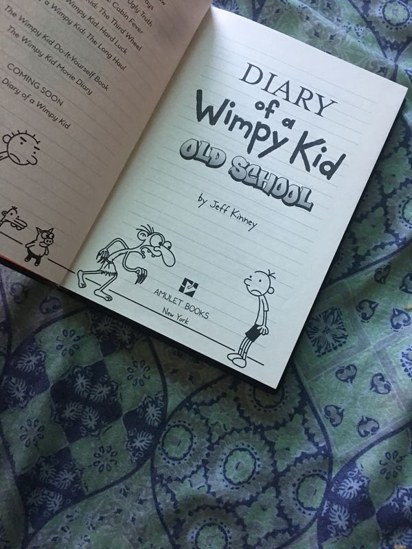 Diary of a wimpy kid old school for sale in oxnard ca offerup solutioingenieria Gallery