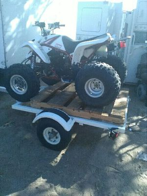2003 YAMAHA 250 AND TRAILER for Sale in Las Vegas, NV