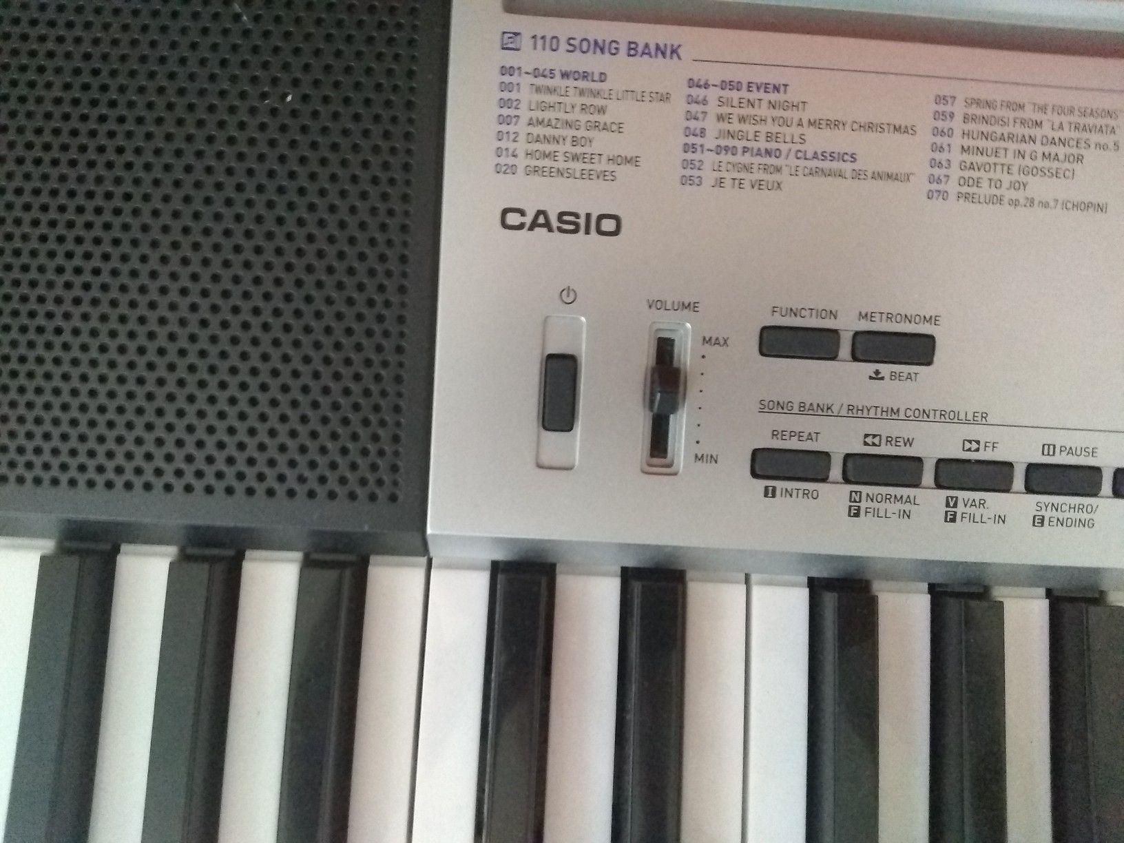 Casio key board