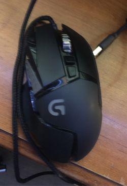Blackweb keyboard with, Logitech mouse and razor mouse Thumbnail