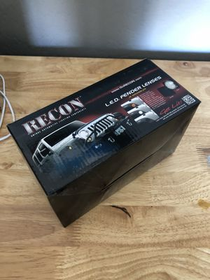 07-18 Jeep Wrangler Recon LED smoked turn signal lights for Sale in Laveen Village, AZ