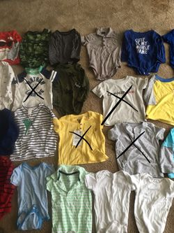 Baby boy/toddler 12-18 months shirts $2 each Thumbnail