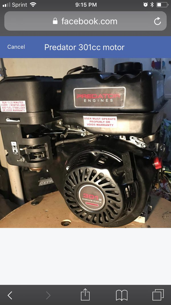 Predator 301cc with torque converter, for go-kart /drift trike / mini bike  but that's crazy for Sale in Saint Charles, MO - OfferUp