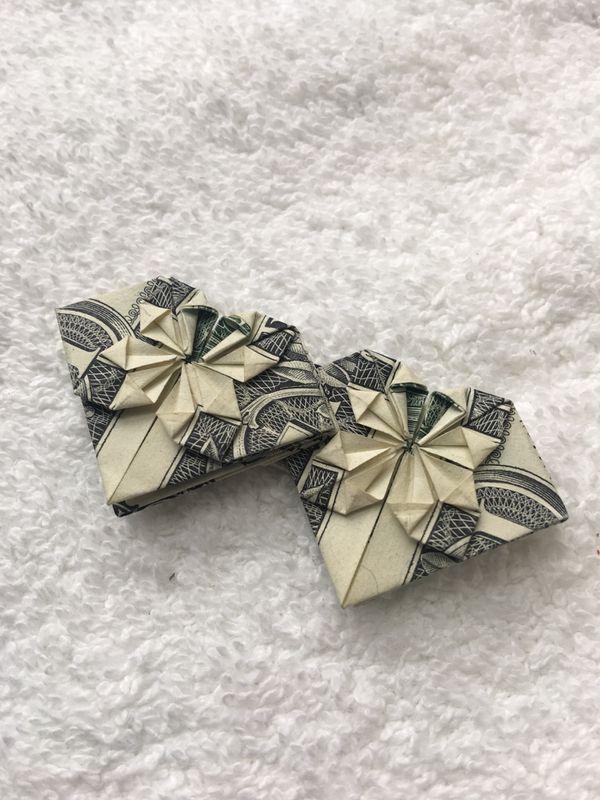 Dollar Origami - Heart Within a Heart | Dollar origami, Dollar ... | 800x600