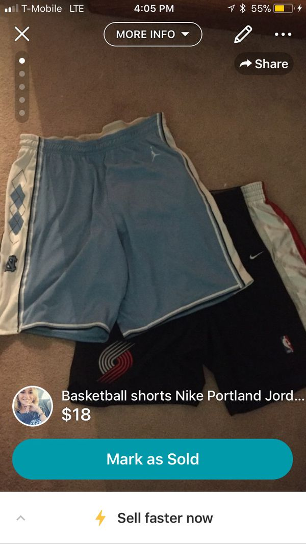 211ee4f8d67 Men's Nike Jordan basketball shorts UNC Portland for Sale in Las ...