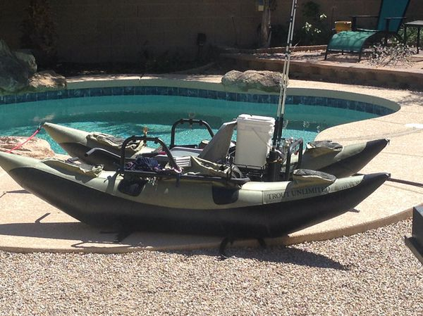 Fishing Pontoon Boats For Sale >> Inflatable Fishing Pontoon Boat For Sale In Gilbert Az Offerup