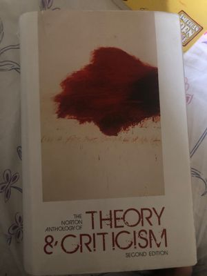 Photo The norton anthology of theory & criticism