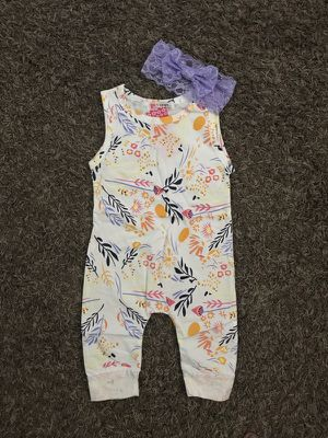Body suit with matching headband for Sale in San Diego, CA