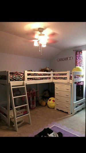 Photo Double Twin Loft Bed