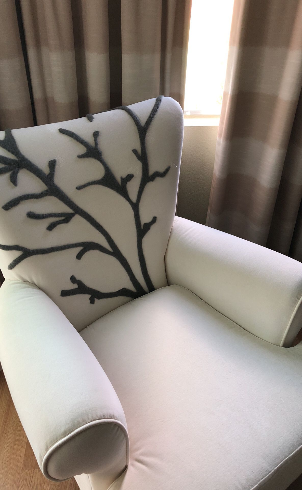 Newly upholstered new Armoir