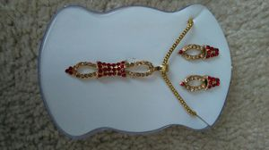 Necklace and earring set for Sale in Fairfax, VA