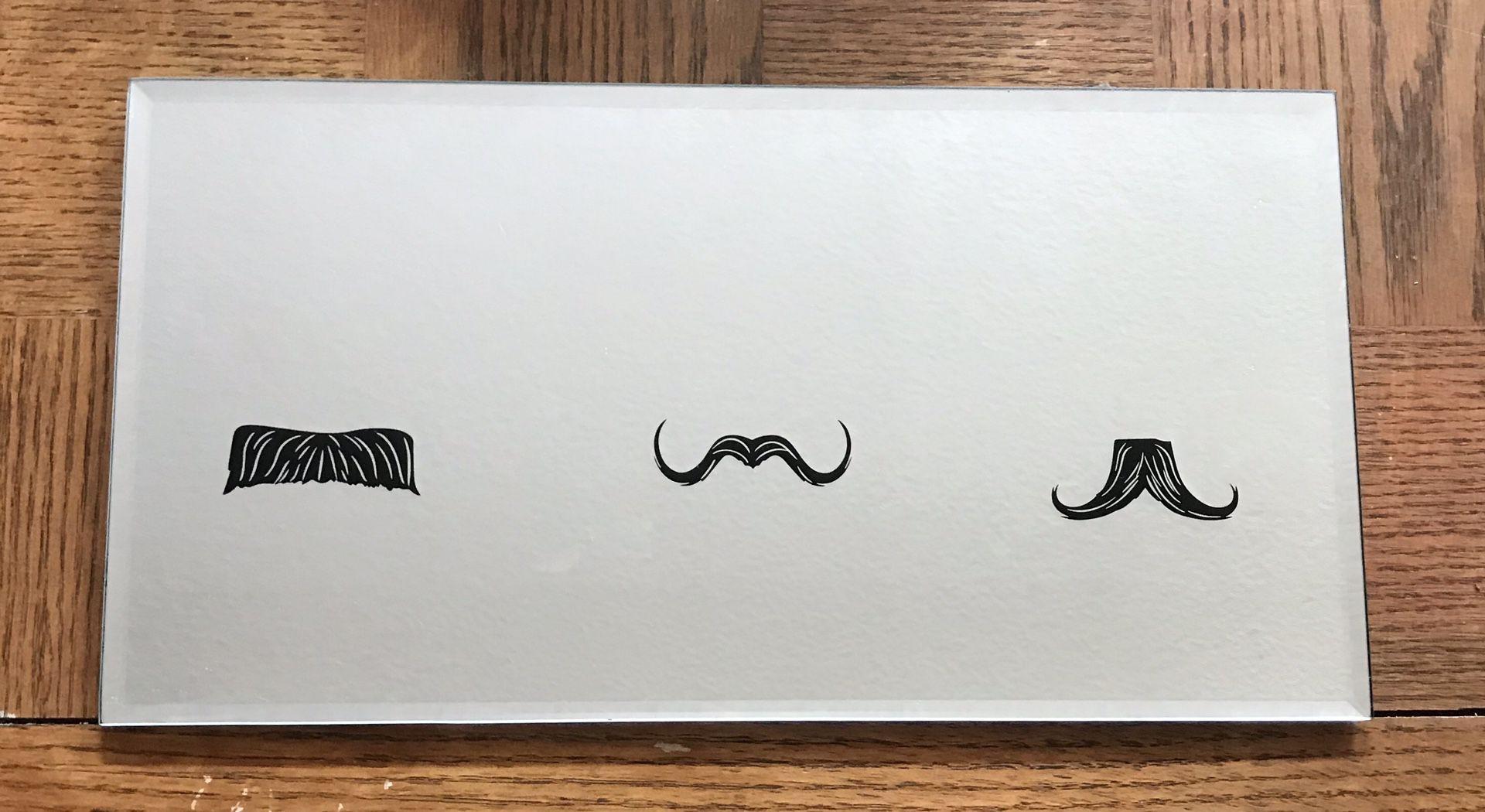 Unique Mustache Mirror