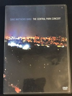 Dave Matthews Band - The Central Park Concert DVD for Sale in Leesburg, VA