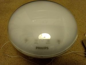 Philips Wake-Up Light and alarm clock for Sale in Hayward, CA