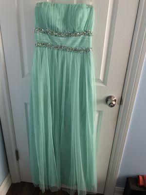 Aquamarine Floor-length Gown for Sale in Fullerton, CA