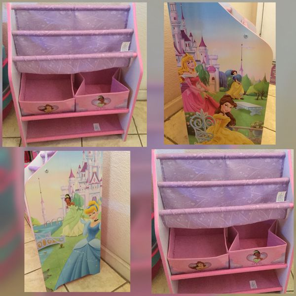 Disney Princess Book Toy Organizer Euc 75th Ave Cactus X