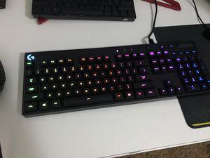 Logitech RGB Gaming Keyboard G810 for Sale in Las Vegas, NV