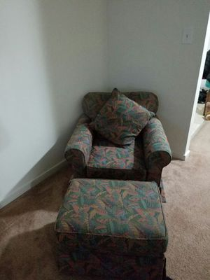 Chair and ottoman for Sale in Midlothian, VA