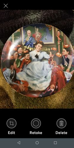 Set of 4 Collectors Plate The King & I Thumbnail