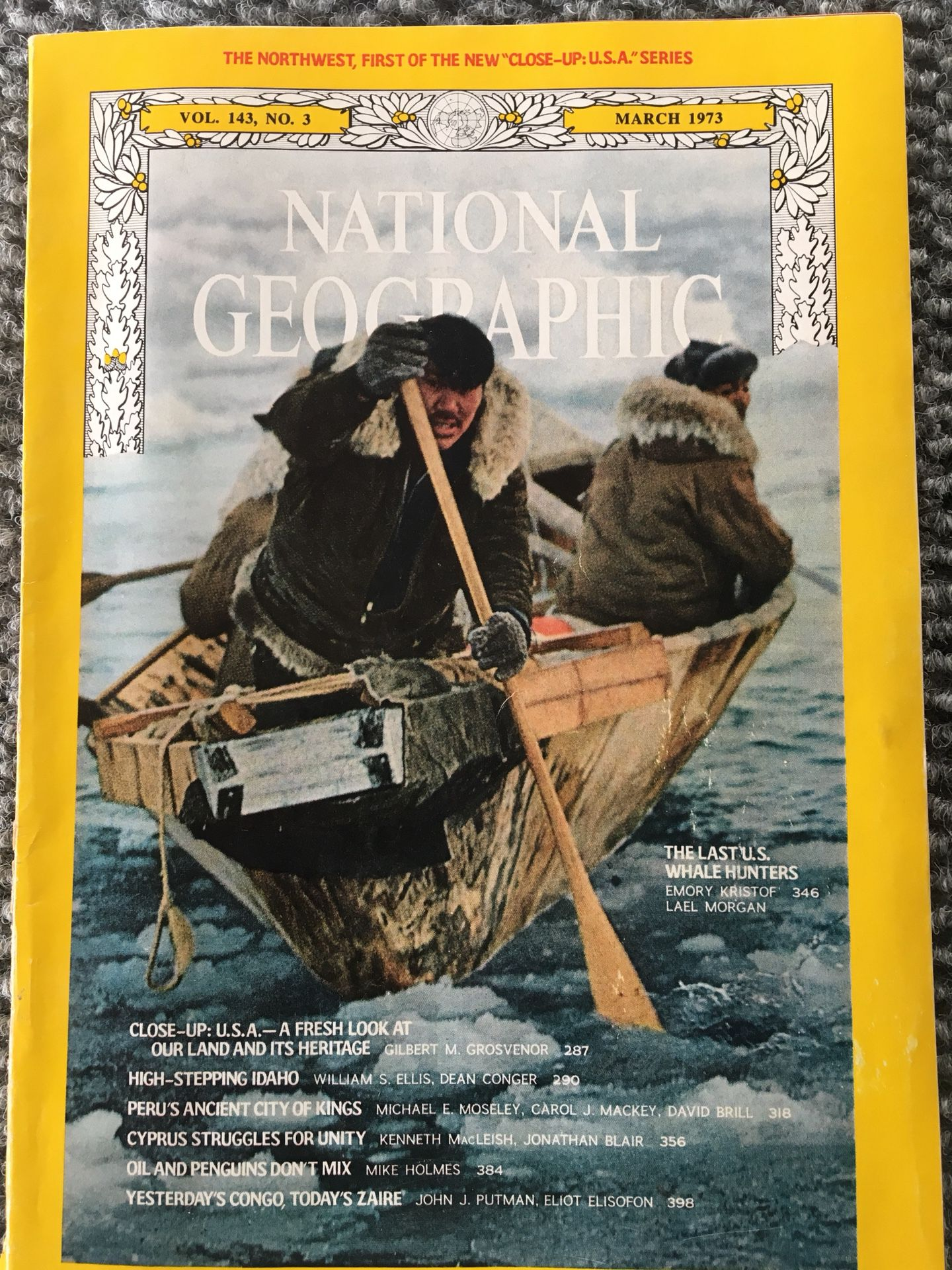 1973 National Geographic