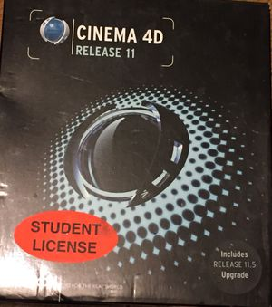 Cinema 4D Release11 & 11.5 Upgrade Bundle Computer Software MSRP $500 for Sale in Pittsburgh, PA