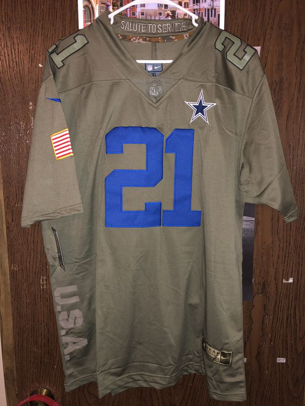 newest a4900 305c5 Zeke Elliott Dallas Cowboys Nike Salute To Service Jersey Size XL New With  Tags for Sale in Vancouver, WA - OfferUp