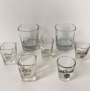 Jack Daniels Whiskey Shot Glass Collection for Sale in Las Vegas, NV