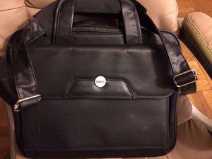 Dell leather laptop bag 15 inch models for Sale in Arlington, VA