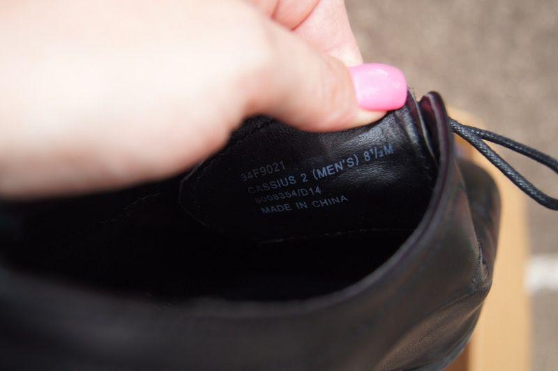 Men's dress shoes size 8 1/2