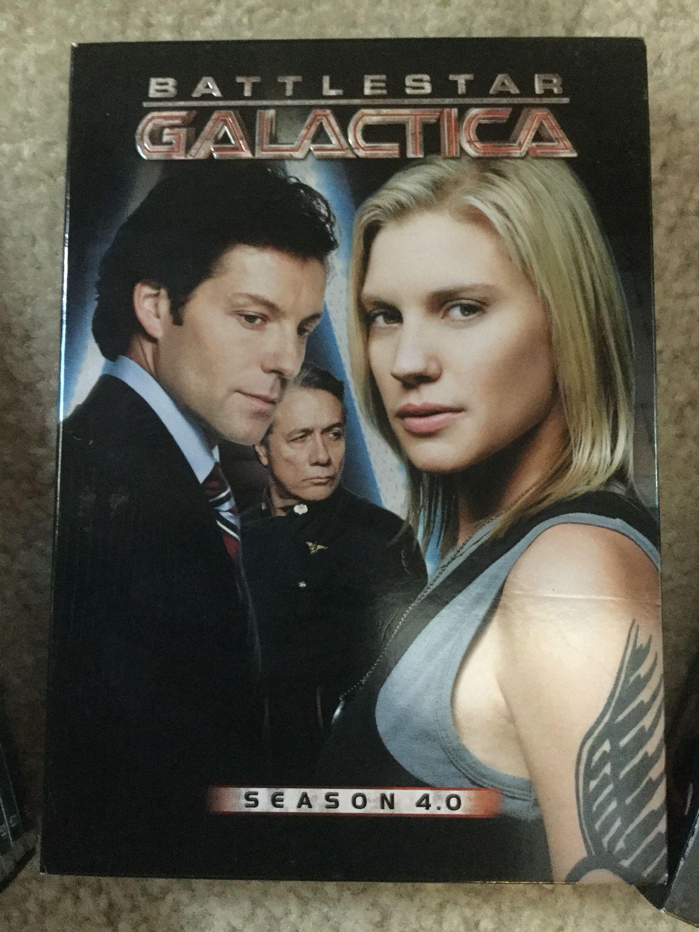 I have the complete Seasons for Battlestar Galactica from Season 1 -Season 4.5 😎👍🍿. 📀📀📀📀📀 🎥
