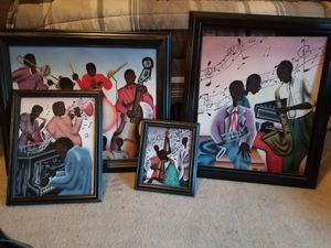 4 piece music art set for Sale in Boyds, MD
