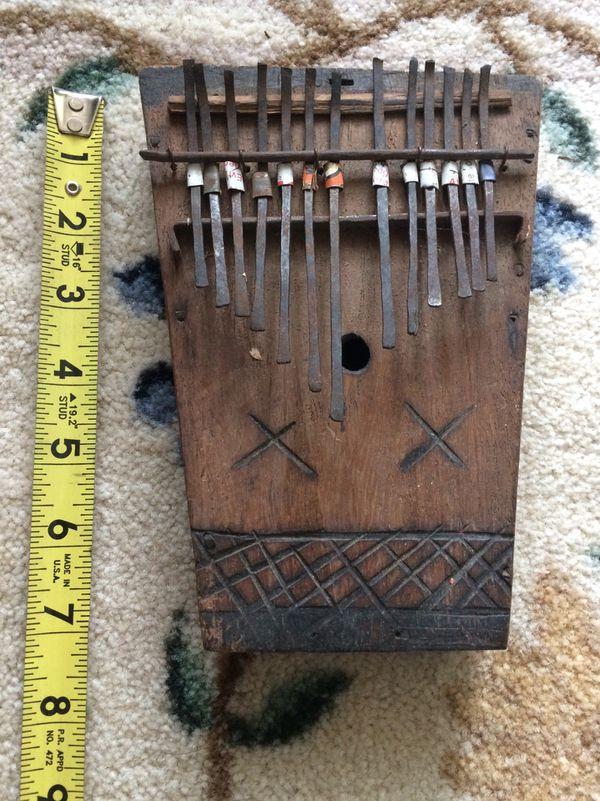 Mbira Malimba kalimba thumb piano gourd instrument African