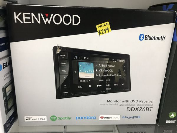 Kenwood DDx26BT double din headunit stereo pandora Spotify pandora on sale  $159  Same day install 90 day payment plan finance no credit needed for
