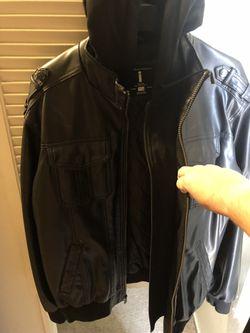 Men's leather jacket Thumbnail