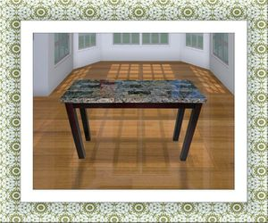 Sofa table with marble for Sale in Hillcrest Heights, MD