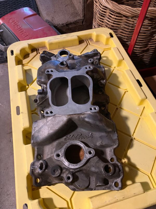 Chevy 350 Edelbrock intake manifold for Sale in Flagstaff, AZ - OfferUp