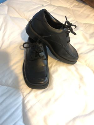 Boys shoes size 6 black for Sale in Manassas, VA