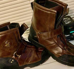 Photo Polo Ralph Lauren Conquest Hi lll Men's Boots SZ 12
