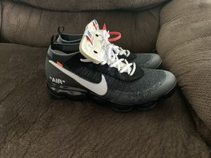 Nike x Off White Vapormax OG Size 10 for Sale in San Diego, CA