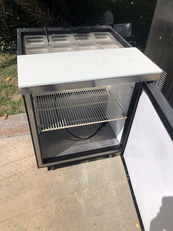Sandwich Prep Table Fridge For Sale In Castaic CA OfferUp - Cold prep table for sale