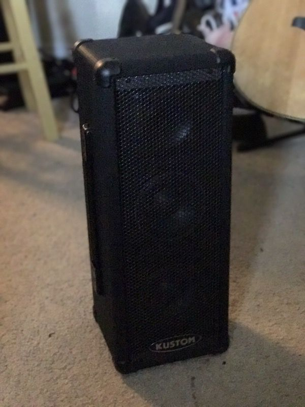 KUSTOM speaker/amp/PA system