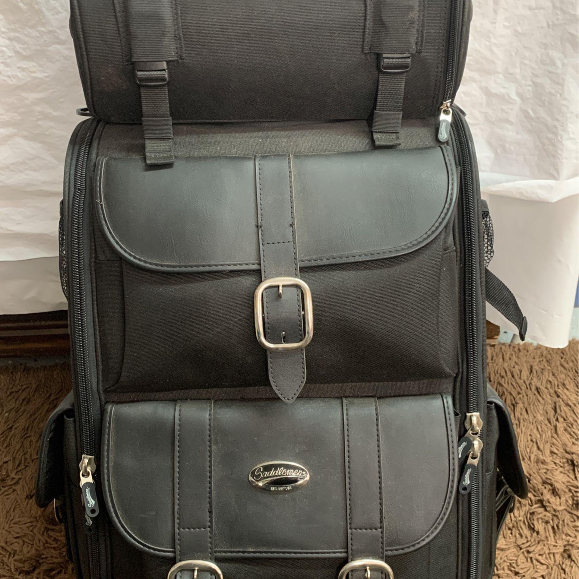 Photo Harley Saddleman T Bag luggage Motorcycle